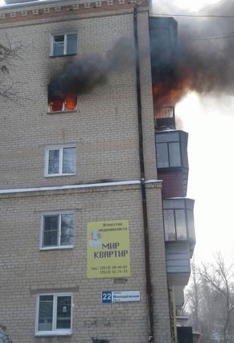 Кто пустил «красного петуха»? Пожарные предполагают, что житель Миасса сам устроил пожар