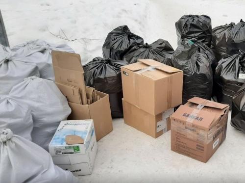 Вторая жизнь для мусора. В Миассе прошла третья по счёту в этом году акция по разумному сбору отходов